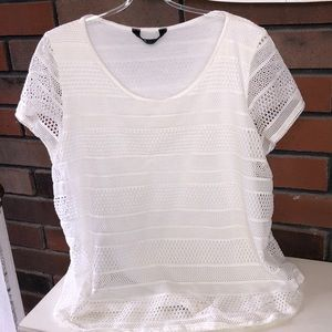 Tops - Ladies Top Lace with Liner, size XL, great